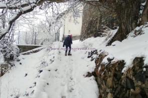 Más nieve en el Valle de Chistau.