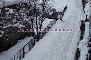El día después de la nieve en Gistaín.