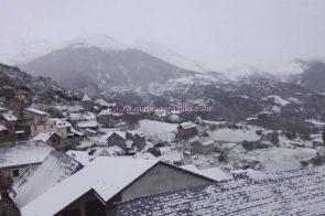 Nieve en el Valle de Chistau (27-4-2017)