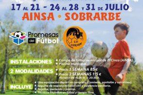 Clinic Promesas del Fútbol en Ainsa.